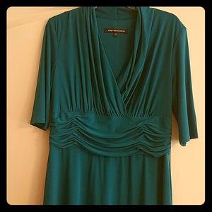 Size 14 Jones Wear dress, 3/4 length sleeve